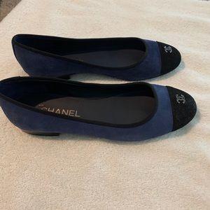 Chanel ballet flats. Never worn